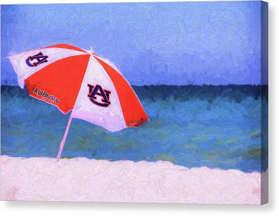 This Is Auburn Canvas Print by JC Findley