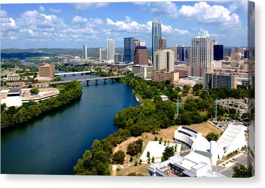 This Is Austin Canvas Print