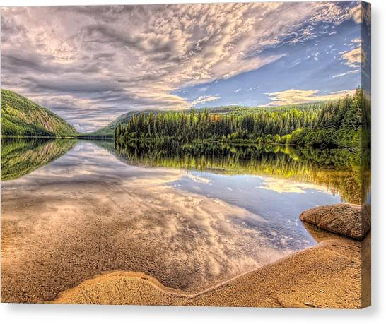 This Is British Columbia No.28 - Conkle Lake Canvas Print by Paul W Sharpe Aka Wizard of Wonders