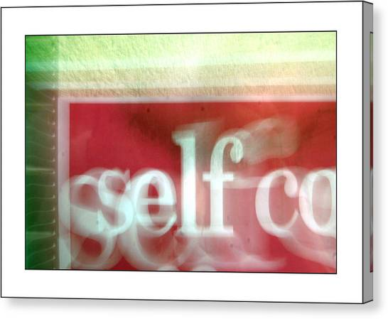 This Is Me Being Me And Thats Just The Way I Am Canvas Print by Jez C Self