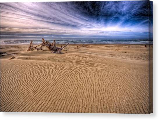 Oregon State Canvas Print - This Is Oregon State No.17 - Florence Beach by Paul W Sharpe Aka Wizard of Wonders