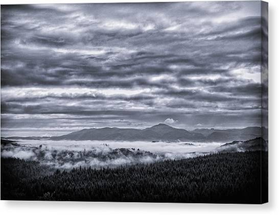 Oregon State Canvas Print - This Is Oregon State No.22 - Above The Clouds by Paul W Sharpe Aka Wizard of Wonders