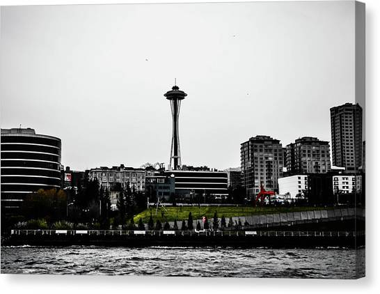 This Is Seattle  Canvas Print