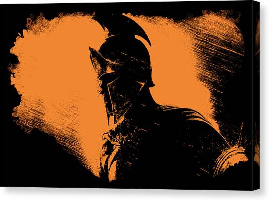 This Is Sparta Canvas Print