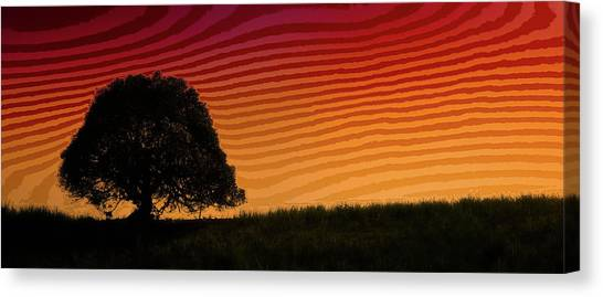 Mango Tree Canvas Print - This Is The Philippines No.11 - Mango Tree Sunset by Paul W Sharpe Aka Wizard of Wonders