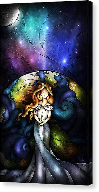 This Little Light Of Mine Canvas Print
