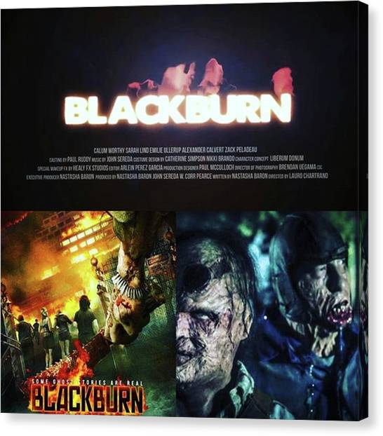 Independent Canvas Print - This Movie blackburn Looks Like My by XPUNKWOLFMANX Jeff Padget