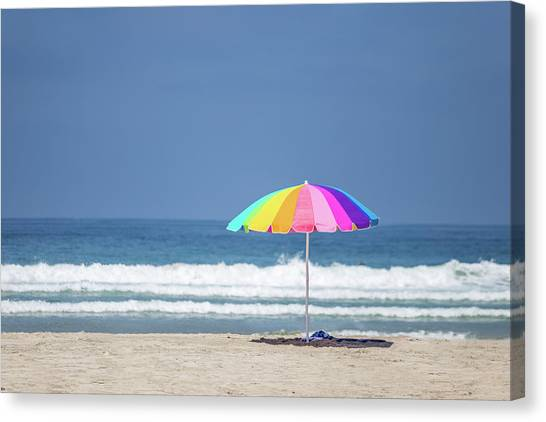 Surf Lifestyle Canvas Print - This, This Is Summer by Peter Tellone