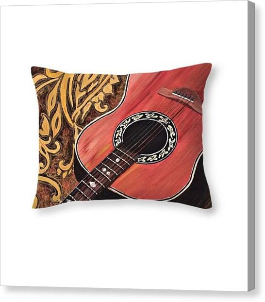 Hawaii Canvas Print - This Throw Pillow Features One Of My by Darice Machel McGuire