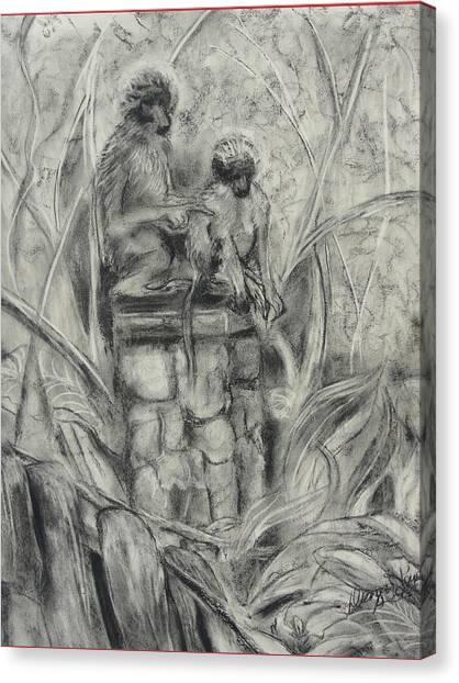 This Way Canvas Print by Diana Kaye Obe