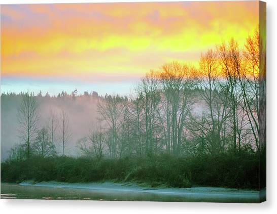 Thomas Eddy Sunrise Canvas Print