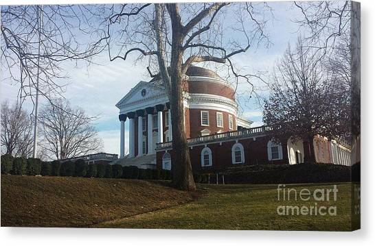 Thomas Jefferson's Rotunda Canvas Print