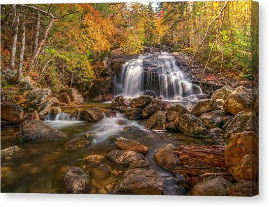 Thompson Falls Canvas Print