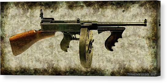 Thompson Submachine Gun 1921 Canvas Print