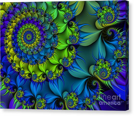 Thorn Flower Canvas Print