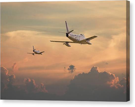 Cold War Canvas Print - 'those Were The Days......' by Pat Speirs
