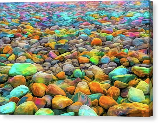 Thou Shalt Not Eat Stones Canvas Print