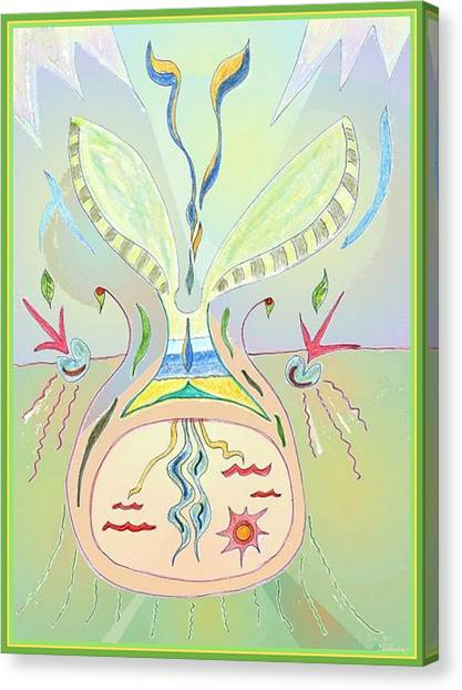 Thought Seed Canvas Print