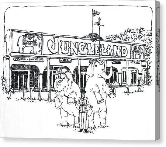 Thousand Oaks Ca Jungleland Canvas Print