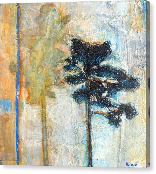 Thread Tree Canvas Print by Sandrine Pelissier