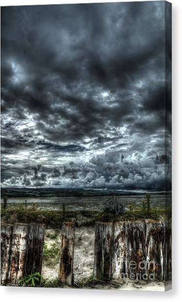 Threatening Sky Canvas Print