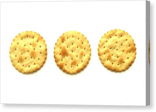 Three Crackers Canvas Print