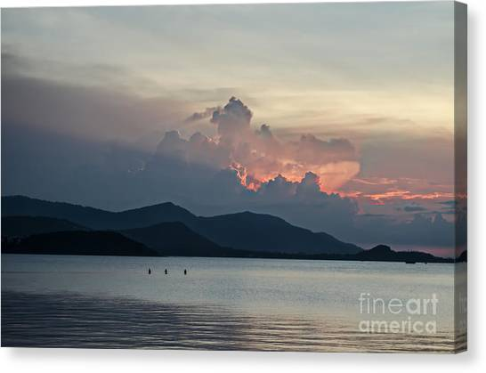 Three Fishermen Canvas Print