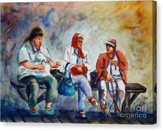 Three In San Diego Canvas Print by Joyce A Guariglia