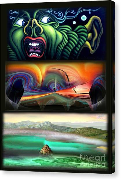 Three Kinds Of Memory Canvas Print by Tighe O'DonoghueRoss