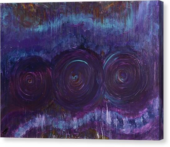 Three Mandalas Canvas Print