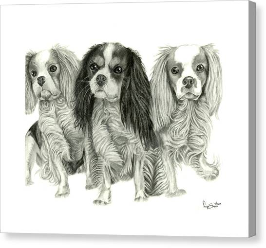 Three Musketeers Canvas Print