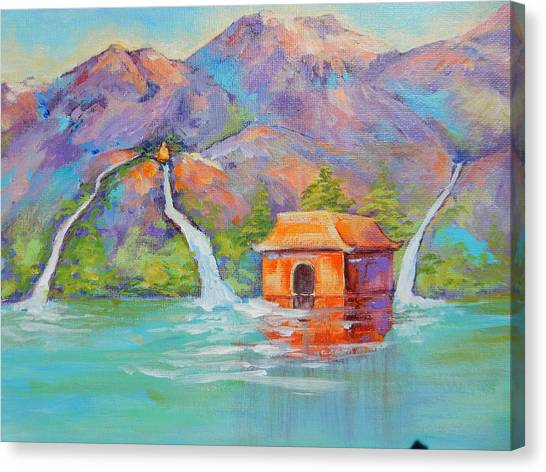 Three Sacred Waters Canvas Print