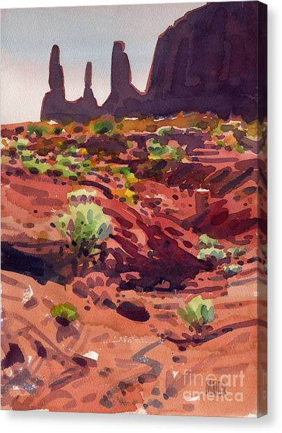 Three Sisters Canvas Print by Donald Maier
