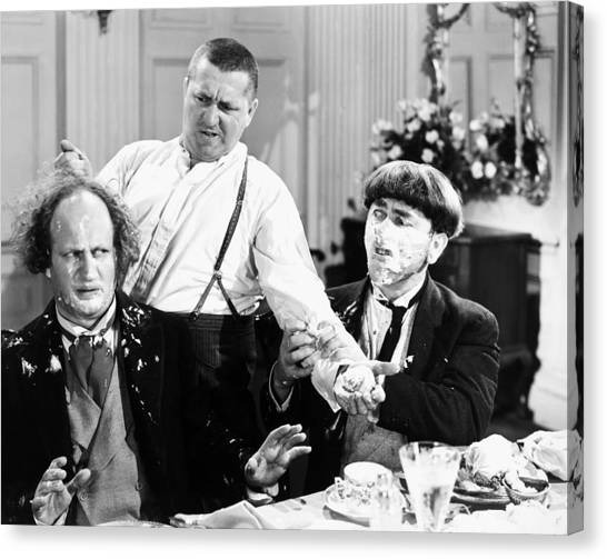 Canvas Print - Three Stooges: Film Still by Granger