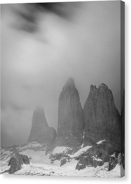 Three Towers Canvas Print