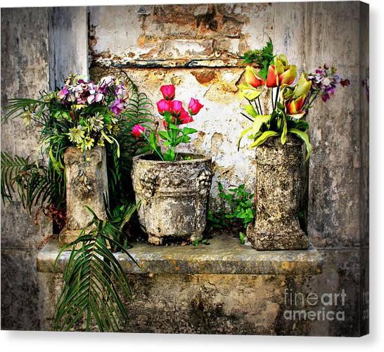 Three Vases Canvas Print
