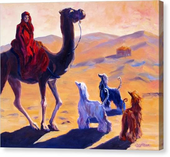 Sight Hound Canvas Print - Three Wise Men by Terry  Chacon