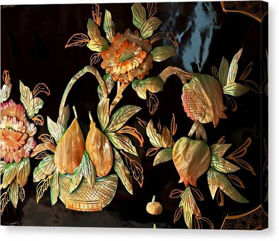 Thrift Store Still Life Canvas Print