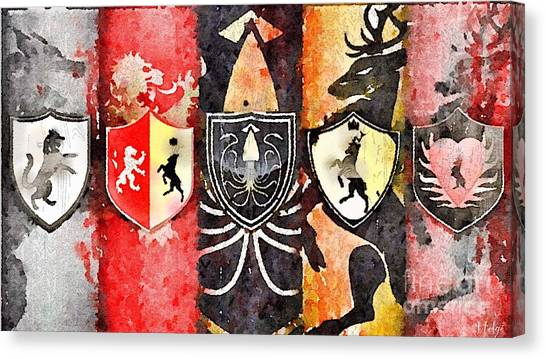 Thrones Canvas Print
