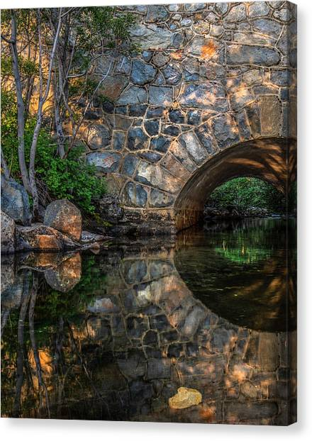 Through The Archway - 2 Canvas Print