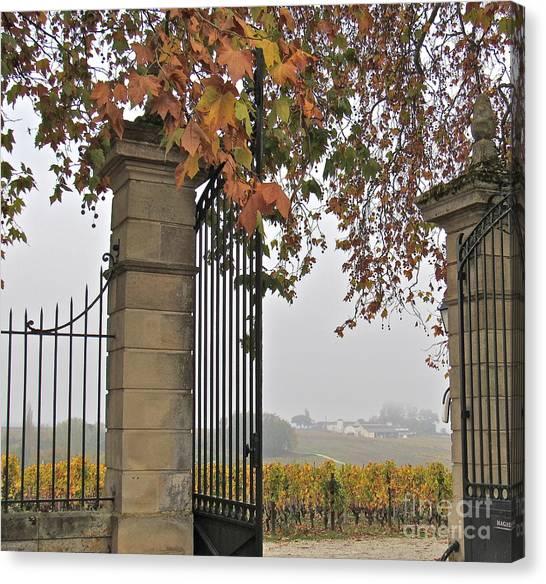 Through The Gates Canvas Print