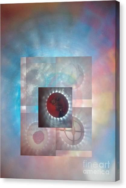 Through The Looking Glass Canvas Print by Sean-Michael Gettys