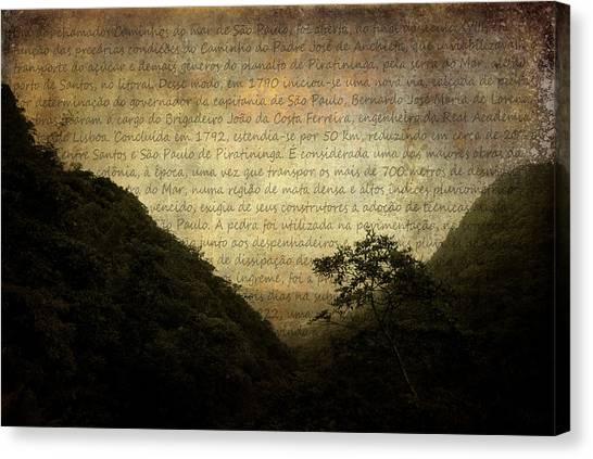 Through The Mountains Canvas Print by Valmir Ribeiro