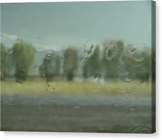 Through The Rain Canvas Print