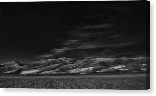 Colorado Canvas Print - Through The Silence Something Throbs ... by Yvette Depaepe