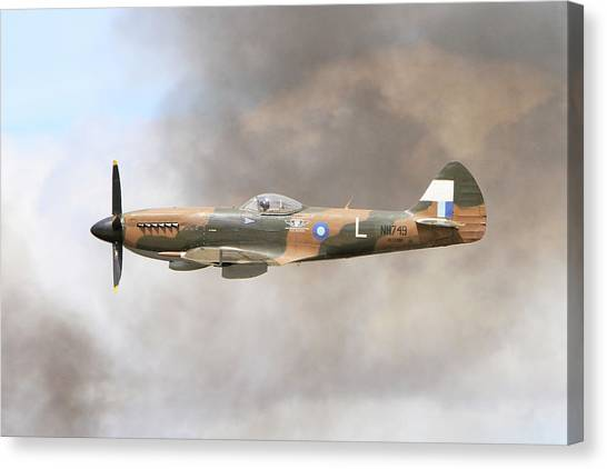 Wii Canvas Print - Through The Smoke by Shoal Hollingsworth