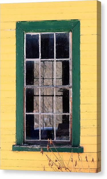Through The Windows Canvas Print