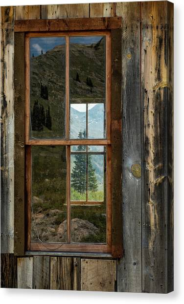 Canvas Print featuring the photograph Through Yonder Window by Denise Bush