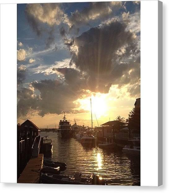 Rhode Island Canvas Print - Newport Ri by Ashtyn Postema