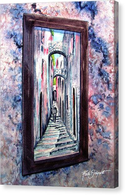 Thru The Looking Glass Canvas Print by Ruth Bodycott